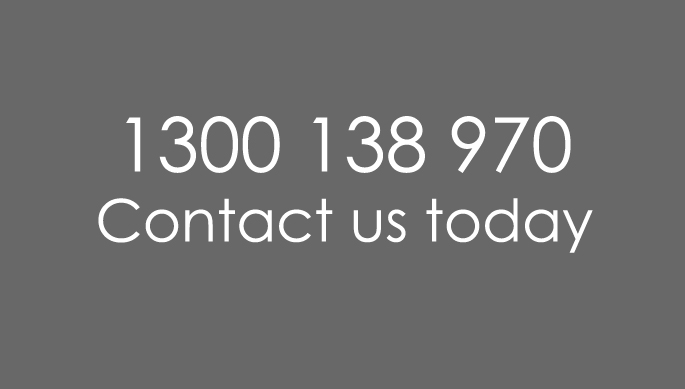 Contact us 1300 138 970